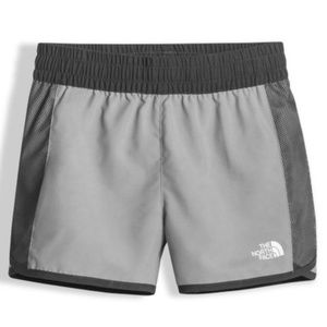 The North Face Girls Grey Active Water Shorts XS